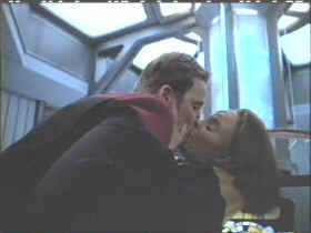 Tom Paris and B'Elanna Torres