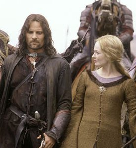 Aragorn and Eowyn