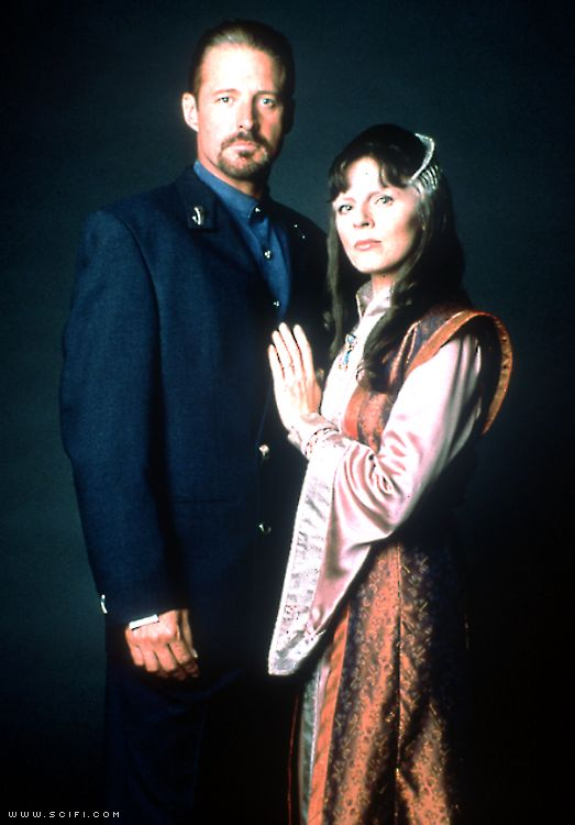 John Sheridan and Delenn
