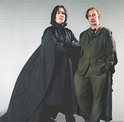 Severus Snape and Remus Lupin